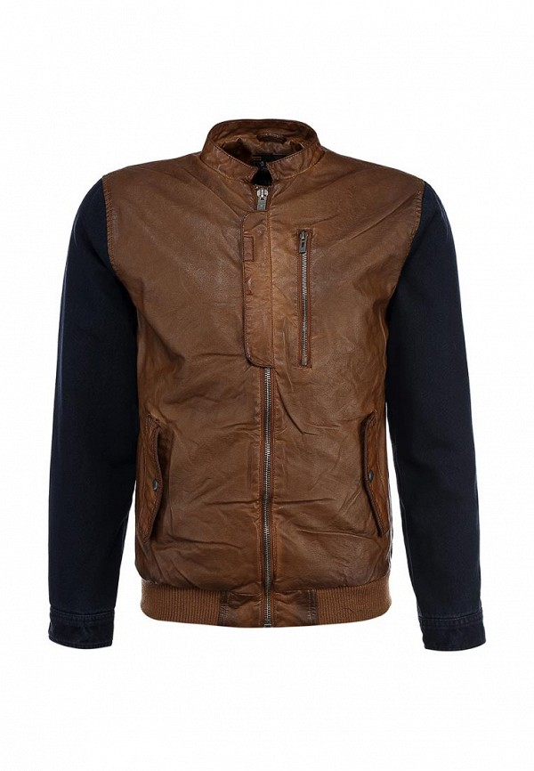 Кожаная куртка Blend (Бленд) 701348: изображение 1