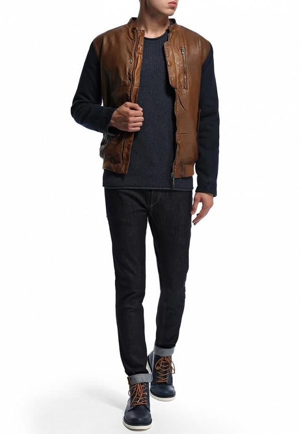 Кожаная куртка Blend (Бленд) 701348: изображение 3