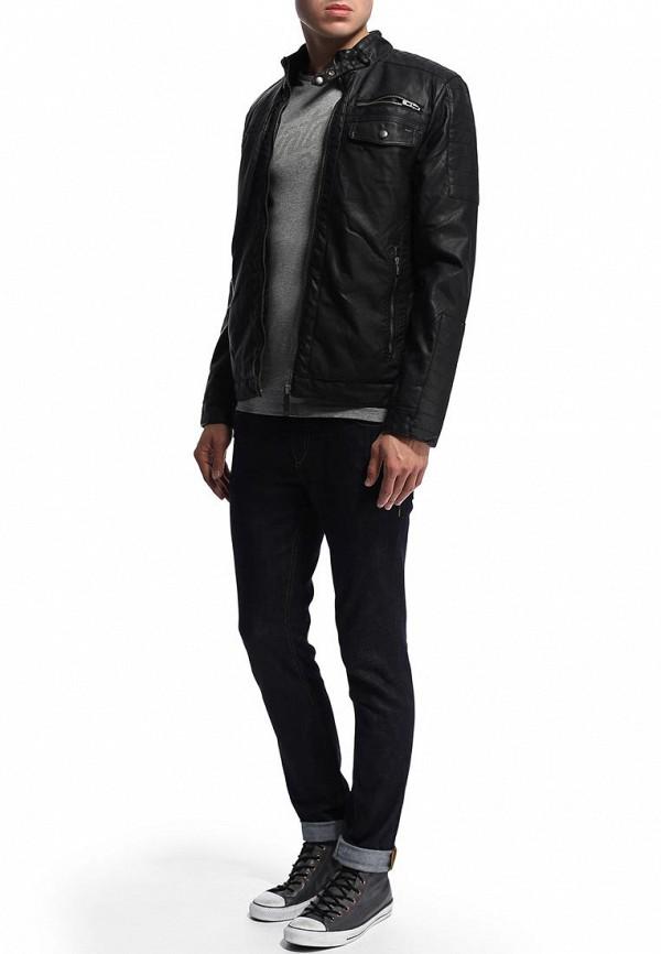 Кожаная куртка Blend (Бленд) 701358: изображение 3