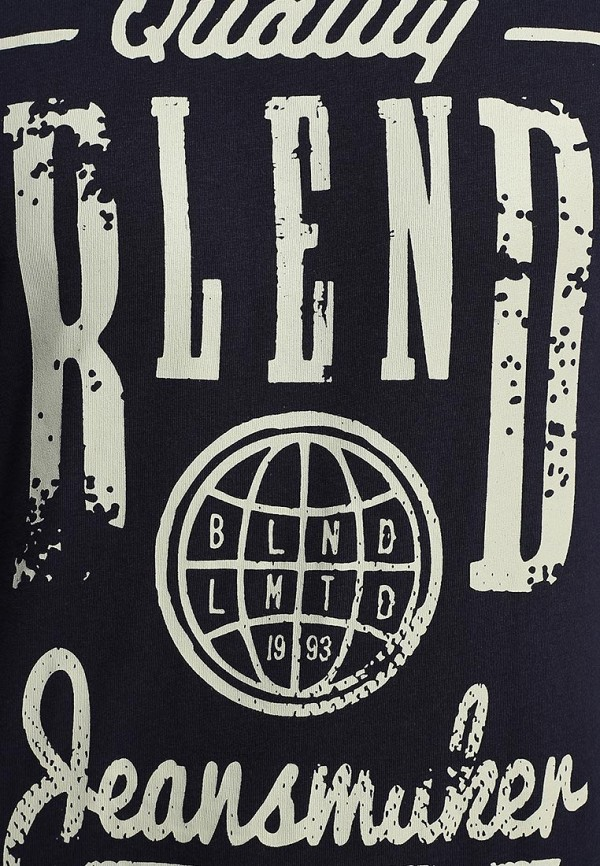 Футболка с надписями Blend (Бленд) 701820: изображение 3