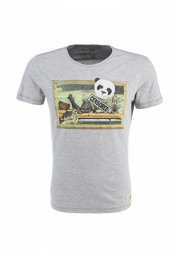 Футболка с фотопринтами Blend (Бленд) 701752: изображение 1