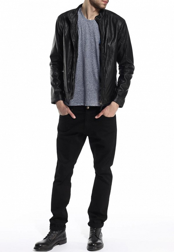 Кожаная куртка Blend (Бленд) 702557: изображение 3