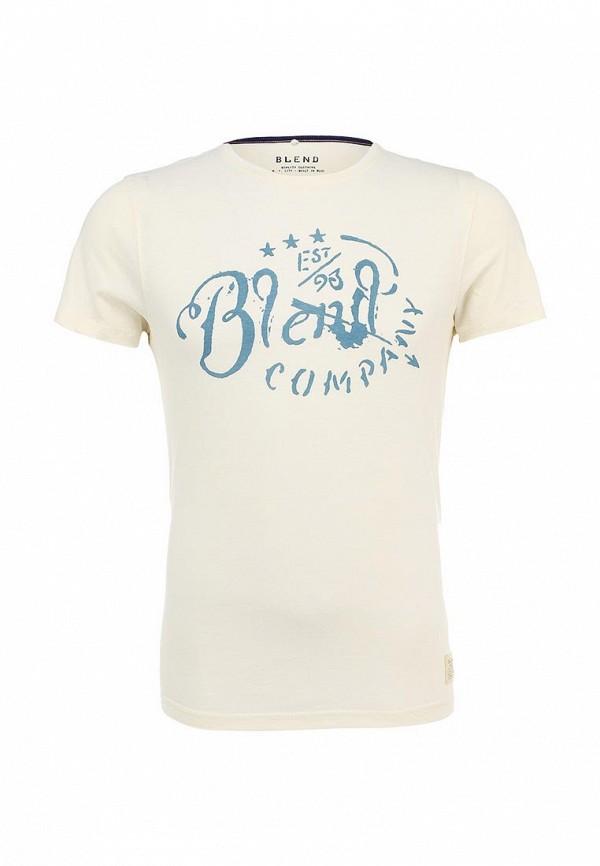 Футболка с надписями Blend (Бленд) 702237: изображение 1
