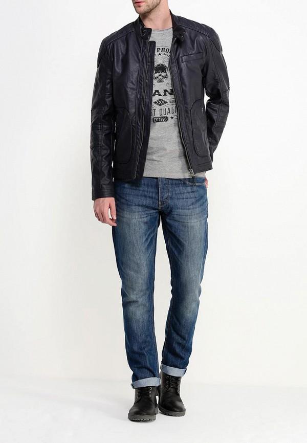 Кожаная куртка Blend (Бленд) 20700284: изображение 2