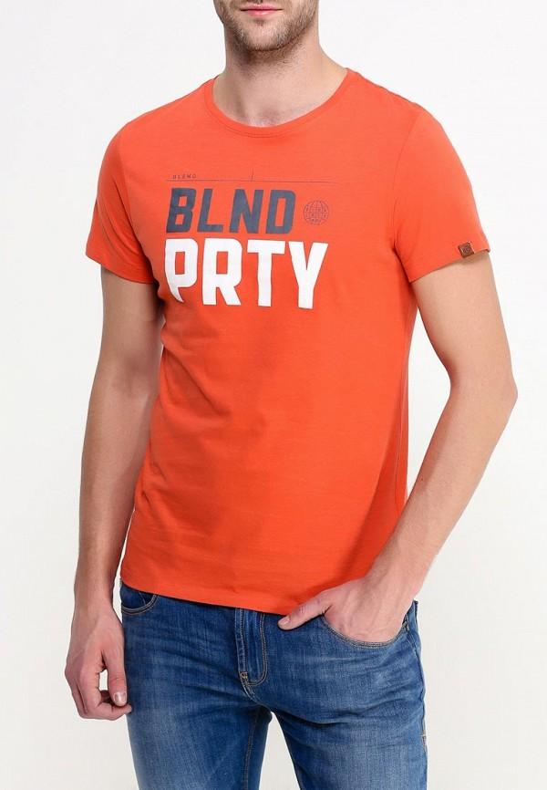 Футболка с надписями Blend (Бленд) 20700204: изображение 4