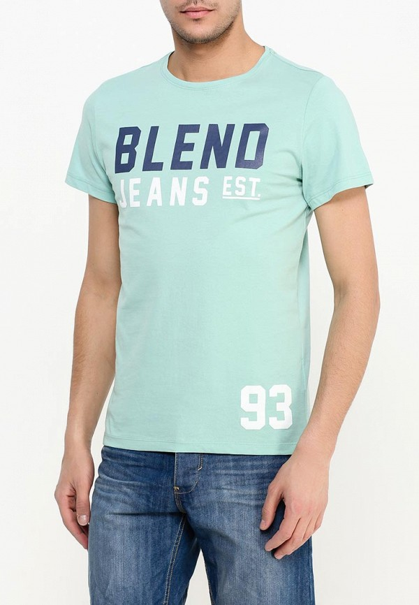 Футболка с надписями Blend (Бленд) 20700913: изображение 3