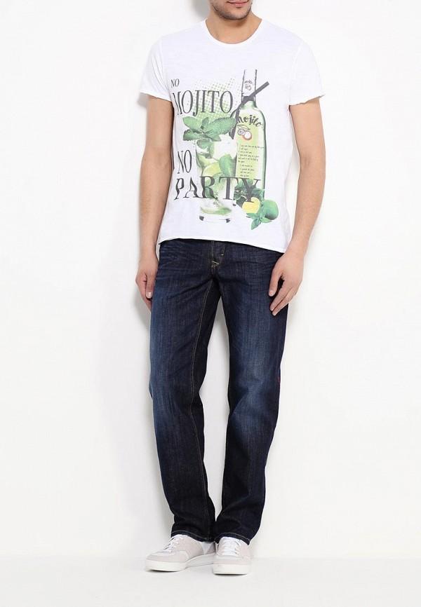 Мужские прямые джинсы Blend (Бленд) 700069: изображение 5