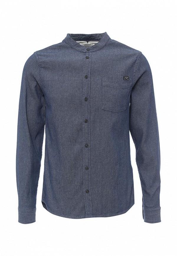 Купить мужскую рубашку Blend синего цвета