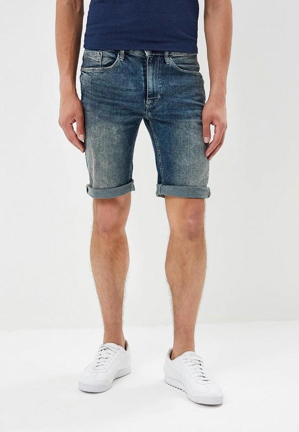 Шорты джинсовые Blend цвет синий сезон весна, лето страна Пакистан размер 46, 48, 50, 52, 54
