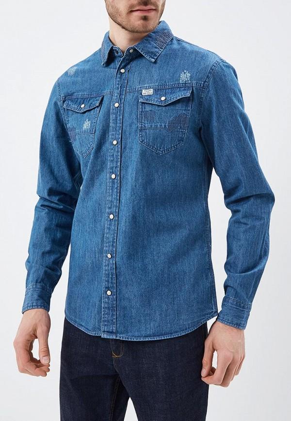 Фото Рубашка джинсовая Blend. Купить с доставкой