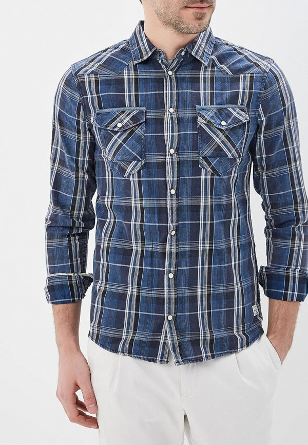 Купить Рубашка Blend, BL203EMZQP50, синий, Весна-лето 2018