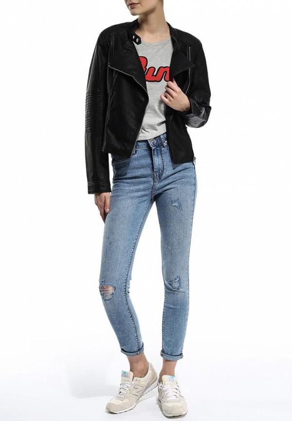 Кожаная куртка Blend (Бленд) 201521: изображение 3