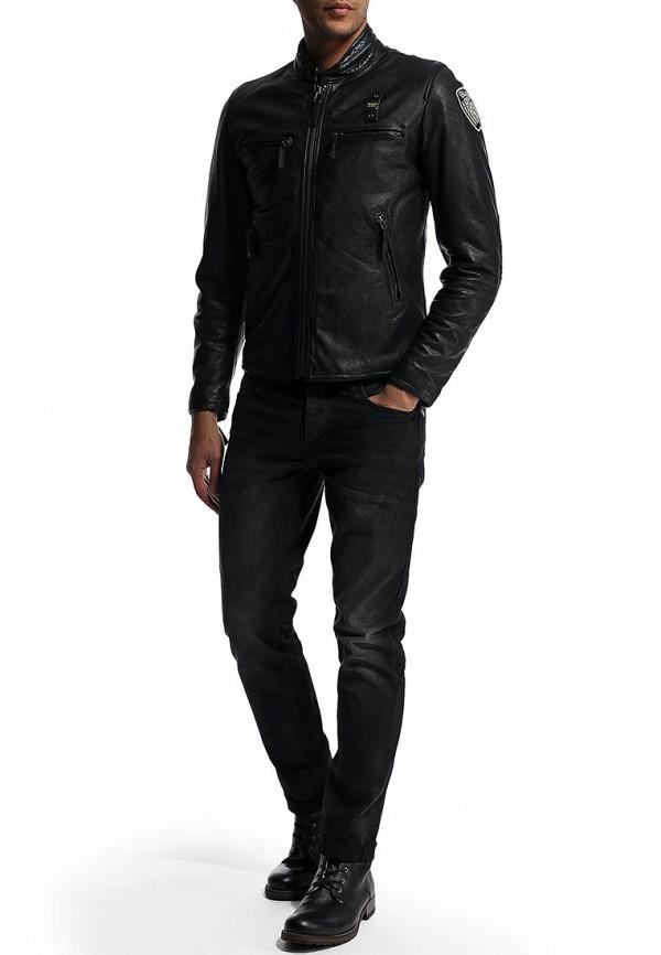 Кожаная куртка Blauer 14wblul01327: изображение 5