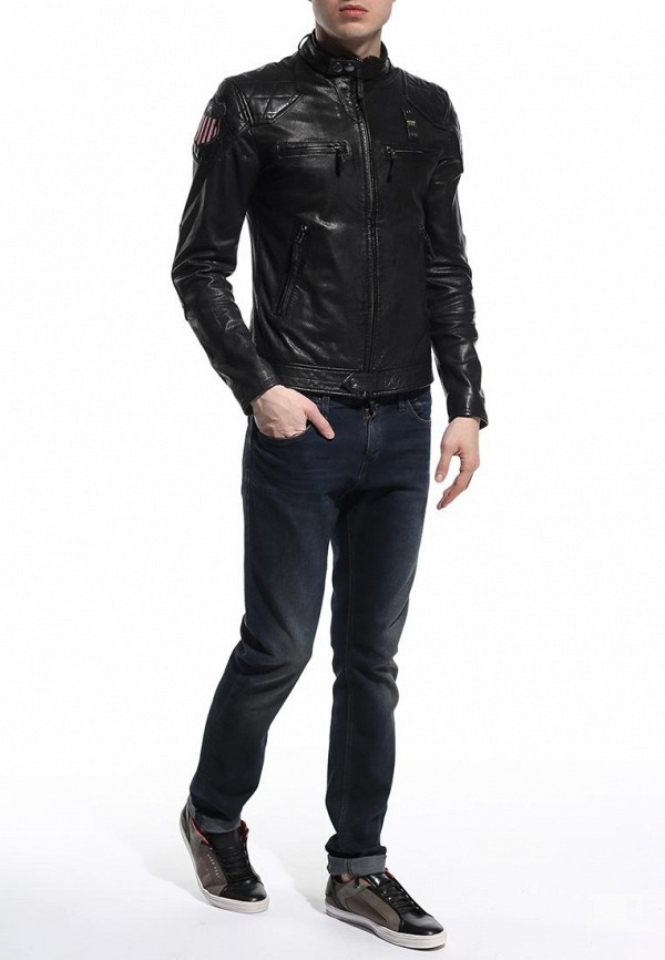 Кожаная куртка Blauer 15sblul02024: изображение 3
