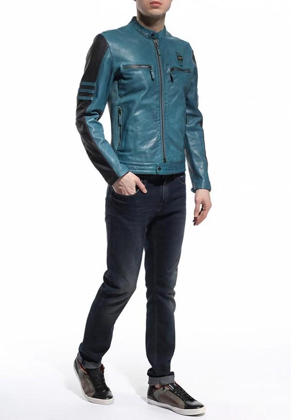 Кожаная куртка Blauer 15sblul02481: изображение 3