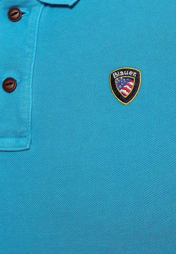 Мужские поло Blauer 15sblut02071: изображение 6