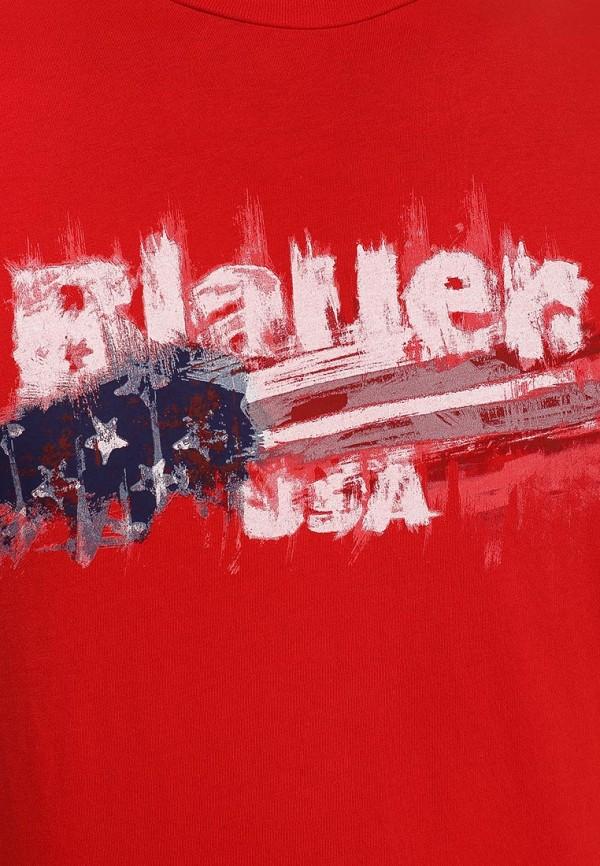 Футболка с надписями Blauer 15sbluh02331: изображение 3