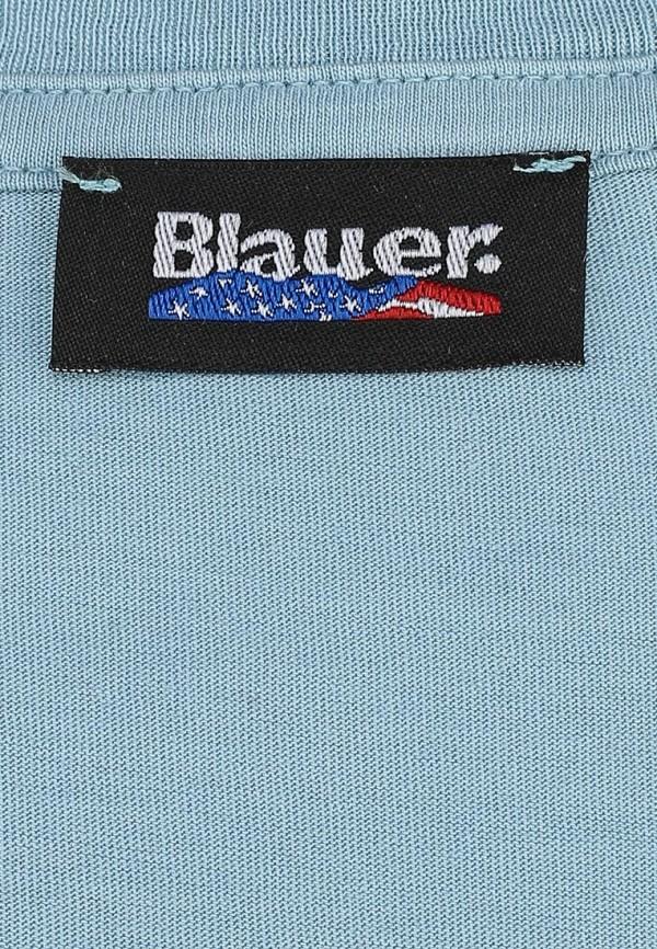 Футболка с фотопринтами Blauer 15sbluh02332: изображение 2