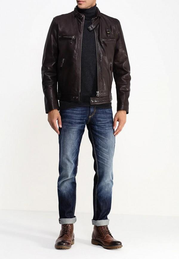 Кожаная куртка Blauer 15WBLUL01311: изображение 3