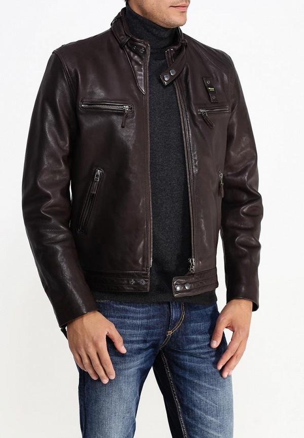 Кожаная куртка Blauer 15WBLUL01311: изображение 4