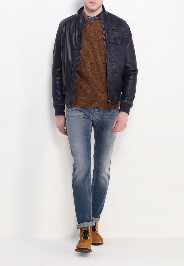 Кожаная куртка Blauer 16SBLUL02522: изображение 3