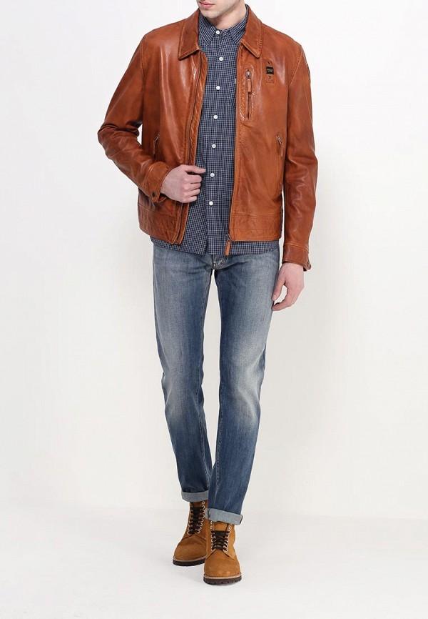 Кожаная куртка Blauer 16SBLUL02521: изображение 3