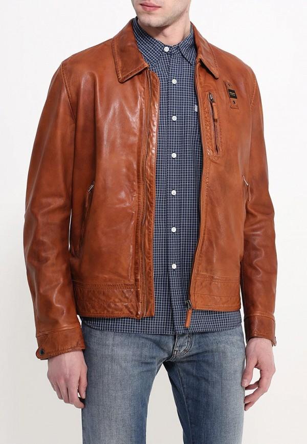 Кожаная куртка Blauer 16SBLUL02521: изображение 4