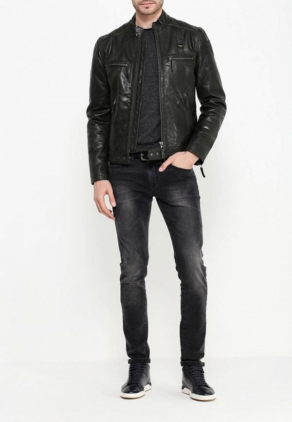 Кожаная куртка Blauer 16wblul01454: изображение 2
