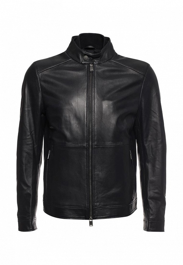 цена Куртка кожаная Boss Hugo Boss Boss Hugo Boss BO010EMYVD61 онлайн в 2017 году