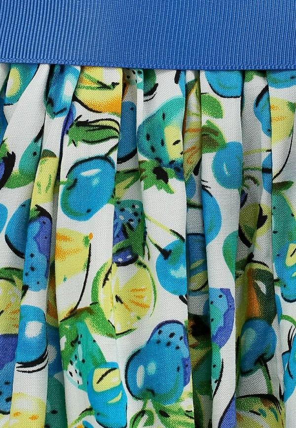 Нарядное платье Born 13-2005-AFбелый/голубой: изображение 4
