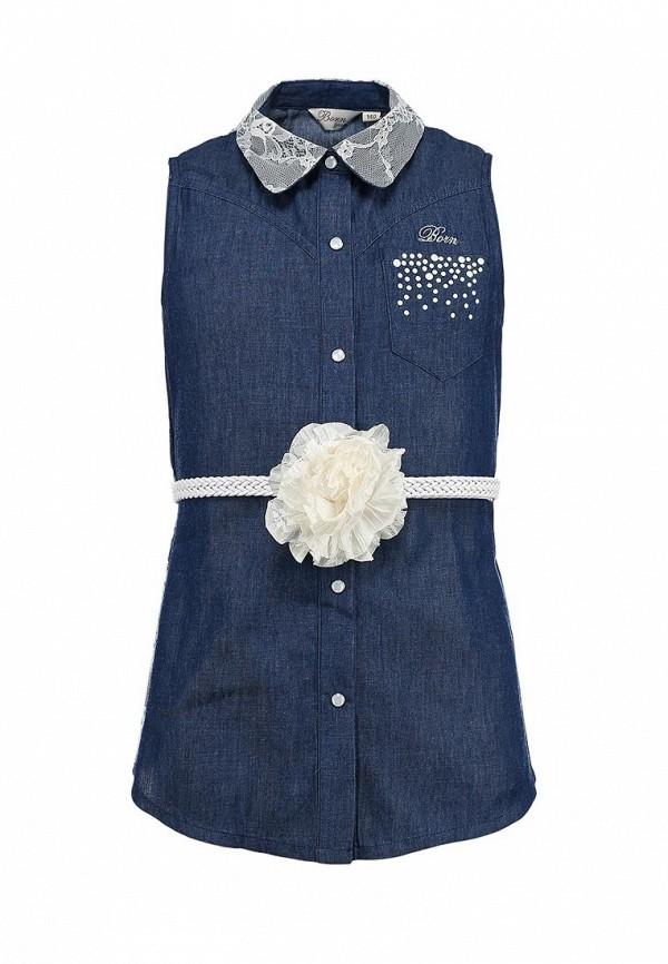 Блуза Born 13-2023-GTтмн-синий: изображение 1