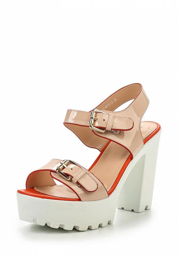 Босоножки на каблуке Bona Dea E705-N8133-4