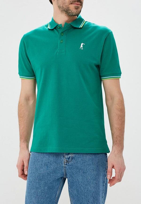 Поло  зеленый цвета