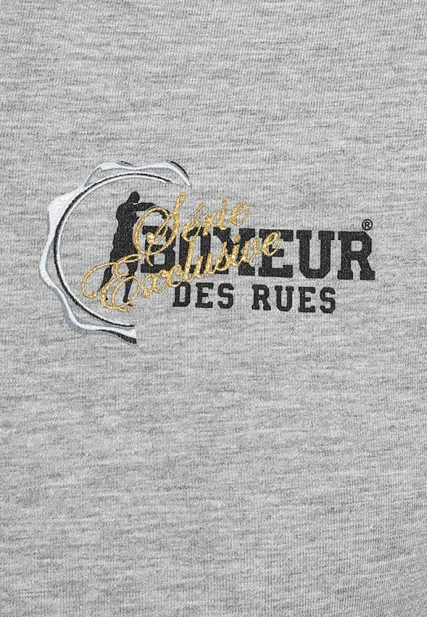 Футболка с надписями Boxeur Des Rues BXE-2045X: изображение 3