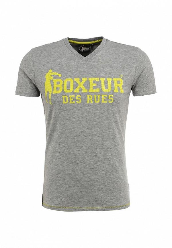 Футболка с надписями Boxeur Des Rues BXE-2400A: изображение 1
