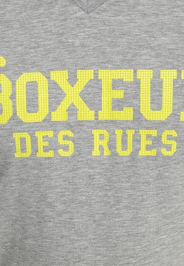 Футболка с надписями Boxeur Des Rues BXE-2400A: изображение 3