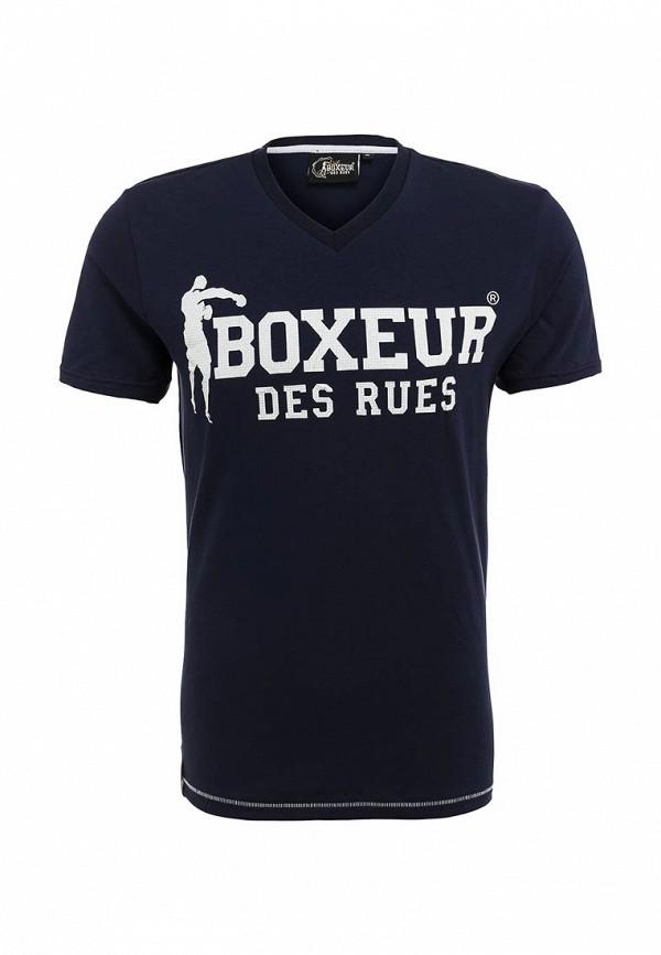 Футболка с надписями Boxeur Des Rues BXE-2400A: изображение 2
