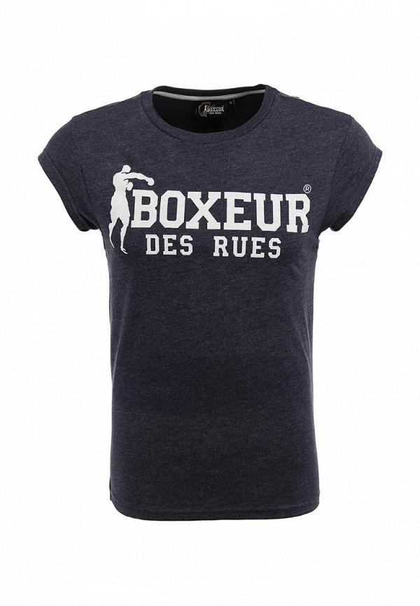 Футболка с надписями Boxeur Des Rues BXE-2401A: изображение 1