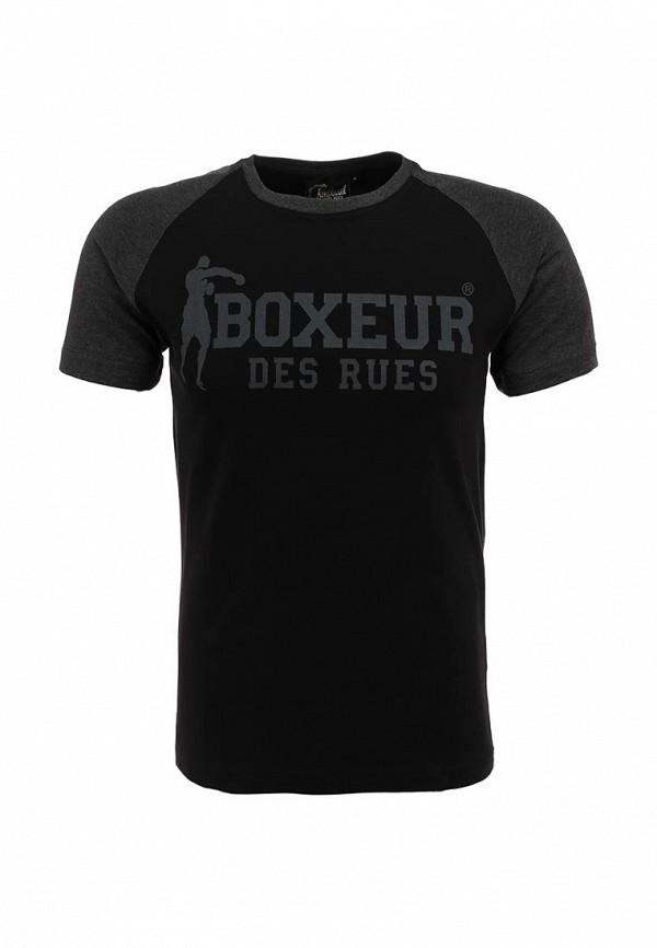 Футболка с надписями Boxeur Des Rues BXE-2407A: изображение 2