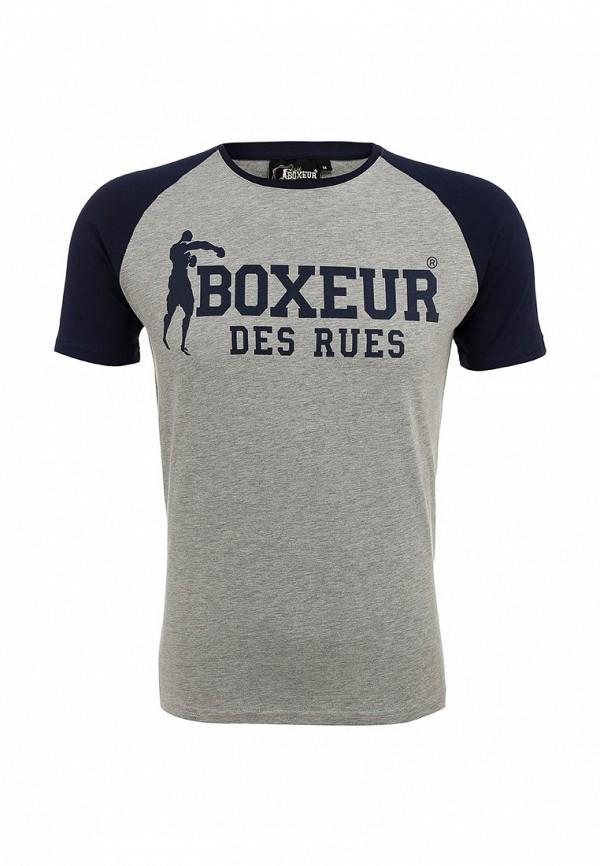 Футболка с надписями Boxeur Des Rues BXE-2407A: изображение 1