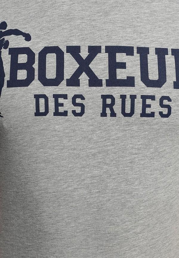 Футболка с надписями Boxeur Des Rues BXE-2407A: изображение 3