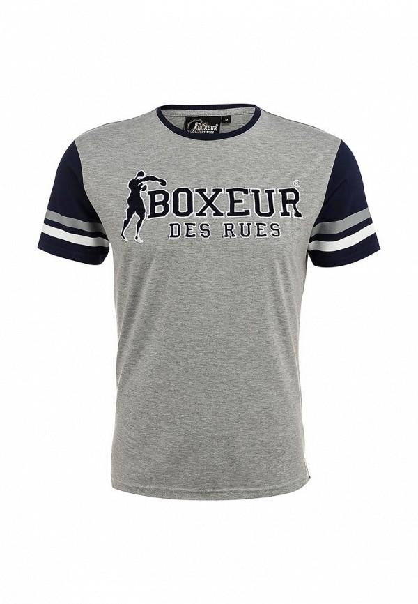 Футболка с надписями Boxeur Des Rues BXE-2412A: изображение 2