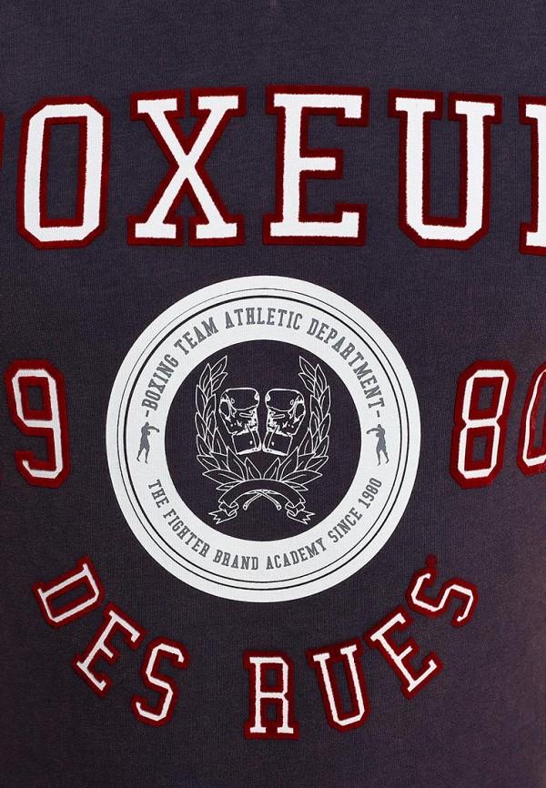 Футболка с надписями Boxeur Des Rues BXE-2420A: изображение 3