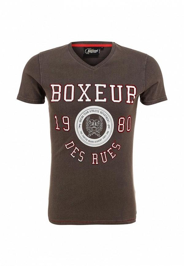 Футболка с надписями Boxeur Des Rues BXE-2420A: изображение 2
