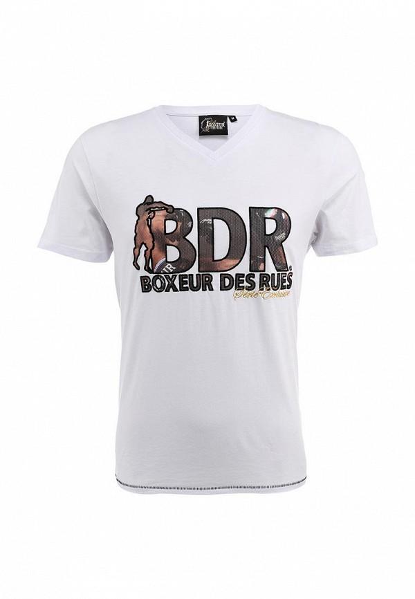 Футболка с надписями Boxeur Des Rues BXE-2431A: изображение 2
