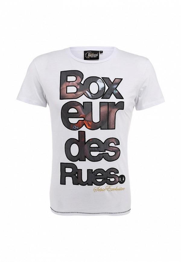 Футболка с надписями Boxeur Des Rues BXE-2435A: изображение 2