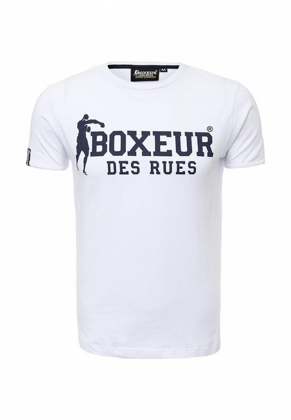 Футболка с надписями Boxeur Des Rues BXE-2593C