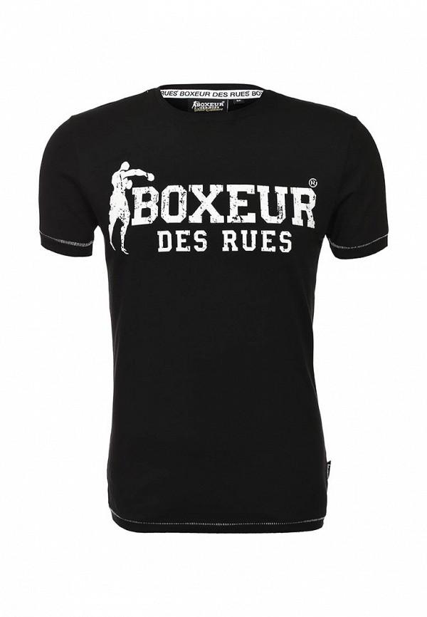Футболка с надписями Boxeur Des Rues BXE-2658D