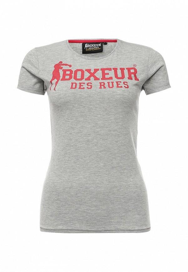 Футболка с надписями Boxeur Des Rues BXE-2669D