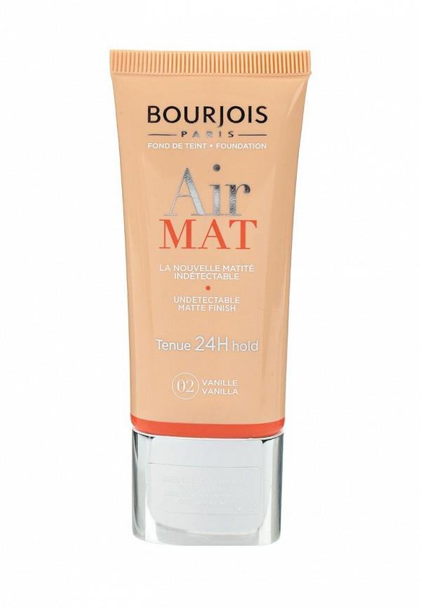 Крем тональный Bourjois Для Лица Air Mat- Found De Teint Тон 02 vanille